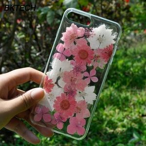 Accessories - Pink Flower iPhone 6/6s/7/8/7+/8+/X/XR/XS MAX Case